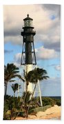 Hillsboro Inlet Lighthouse Bath Towel