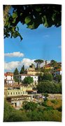 Hillside Tuscan Village  Bath Towel
