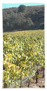 Hillside Vineyard Bath Towel