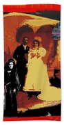 Hispanic Wedding Libertad Lady Photo Gallery Collage 1880-2010 Bath Towel