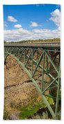 Historic Highway Bridge Bath Towel