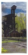 Historic Railroad Bath Towel