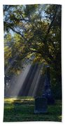 Historic Sibley Cemetery At Fort Osage Missouri Bath Towel