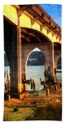 Historic Siuslaw River Bridge Bath Towel