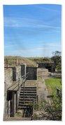 Historical Fort Wool Virginia Landmark Bath Towel