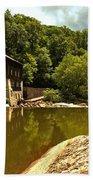 History Along Slippery Rock Creek Bath Towel