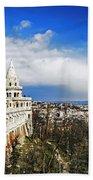 History Of Budapest Bath Towel