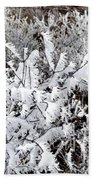 Hoarfrost 18  Bath Towel