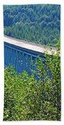 Hoffstadt Creek Bridge To Mount St. Helens Bath Towel