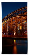 Hohenzollern Bridge Bath Towel