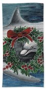 Holiday Smile Hand Towel