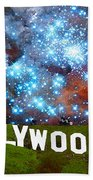 Hollywood 2 - Home Of The Stars By Sharon Cummings Hand Towel