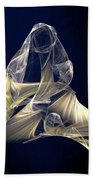 Holy Mother And Child Abstract II Bath Towel