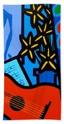 Homage To Matisse I  Bath Towel