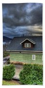 Home In The Mountains Bath Towel