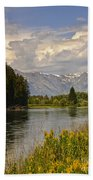 Homeground Waters Landscape Bath Towel