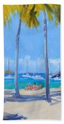 Honey Moon Beach Day Bath Towel