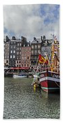 Honfleur Holiday Bath Towel