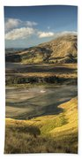 Hoopers Inlet And Cape Saunders New Bath Towel