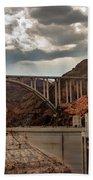 Hoover Dam Bridge Bath Towel