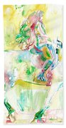 Horse Painting.19 Hand Towel