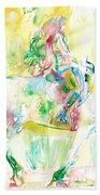 Horse Painting.19 Bath Towel