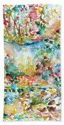 Horse Painting.20 Hand Towel