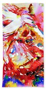 Horse Painting.28 Hand Towel