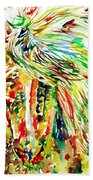 Horse Painting.31 Hand Towel