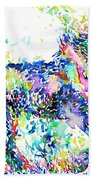 Horse Painting.33 Hand Towel