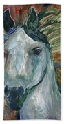 Horse Portrait 103 Bath Towel