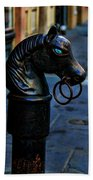 Horse With Blue Eyes Bath Towel