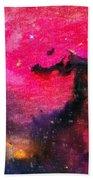 Horsehead Nebula Bath Towel
