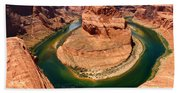 Horseshoe Bend - Nature's Awesome Work Hand Towel