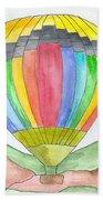 Hot Air Balloon 03 Bath Towel
