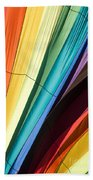 Hot Air Balloon Rainbow Bath Towel