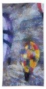 Hot Air Balloons Photo Art 02 Bath Towel