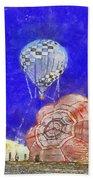 Hot Air Balloons Photo Art 04 Bath Towel
