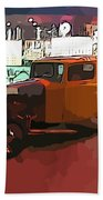 Hot Rod Icon Bath Towel