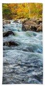 Housatonic River Autumn Bath Towel