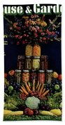 House And Garden Cover Featuring Fruit Hand Towel