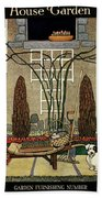 House And Garden Garden Furnishing Number Cover Hand Towel