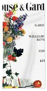 House And Garden Guide To Good Gardening Cover Hand Towel
