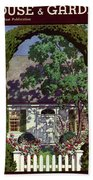 House And Garden Small House Number Bath Towel