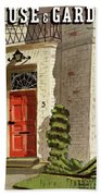 House And Garden Trends In Decorating Cover Hand Towel
