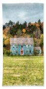 House By The Woods Bath Towel