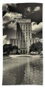 Houston City Hall Bath Towel