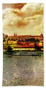 Hradczany - Prague Bath Towel