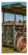 Huber Tractor Bath Towel