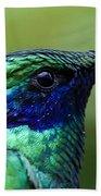 Hummingbird Closeup Bath Towel